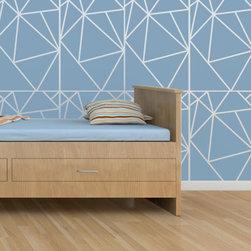 Cute Stencils - Geometric Allover Wall Stencil - GEOMETRIC ALLOVER WALL STENCIL DESIGN