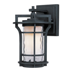 Maxim Lighting - Maxim Lighting 85782Wgbo Oakville Ee 1-Light Outdoor Wall Lantern - Maxim Lighting 85782WGBO Oakville EE 1-Light Outdoor Wall Lantern