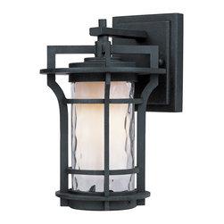 Maxim Lighting - Maxim Lighting 85782WGBO Oakville EE 1-Light Outdoor Wall Lantern - Maxim Lighting 85782WGBO Oakville EE 1-Light Outdoor Wall Lantern