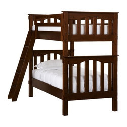 Kendall Bunk Bed - Beautifully made and incredibly versatile, our Kendall Bunk Bed features Craftsman-inspired details.
