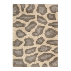 Nourison - Nourison Splendor SPL18 (Beige) 5' x 7' Rug - Nourison Splendor carpets are marvelously soft and shaggy. Hand made of premium quality yarns in designs complement both contemporary and eclectic decor, these carpets create an atmosphere of casual elegance.