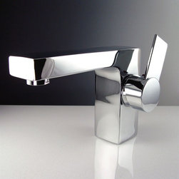 Fresca - Fresca - Isarus Centerset Chrome Bathroom Faucet - Fresca faucets are the same great faucets that ship with the vanities we sell at DecorPlanet. Now you are able to purchase these faucets individually. This faucet is made from heavy duty brass and features a chrome finish.