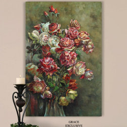 "Uttermost 32181 Regal Florals Art - Get 10% discount on your first order. Coupon code: ""houzz"". Order today."
