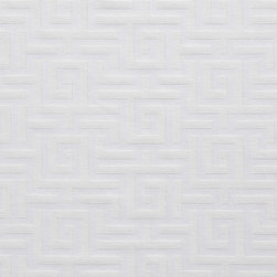 White Shiny Geometric Luxurious Faux Silk Upholstery Fabric By The Yard - This upholstery fabric feels and looks like silk, but is more durable and easier to maintain. This fabric will look great when used for upholstery, window treatments or bedding. This material is sure to standout in any space!