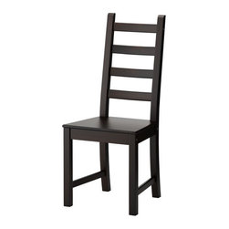 IKEA of Sweden - KAUSTBY Chair - Chair, brown-black