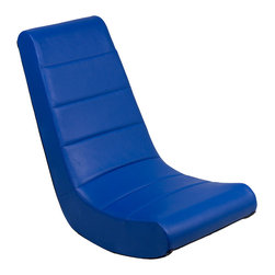 Ace Bayou - Ace Bayou Adult Video Rocker in Stadium Blue - Adult Video Rocker in Stadium Blue by Ace Bayou.