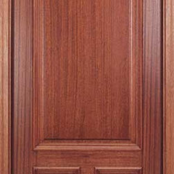 "Arch Top Mahogany Doors - Beautiful 6'8"" high x 36"" wide pre-hung arch top mahogany entry door. Price includes shipping anywhere in the US"
