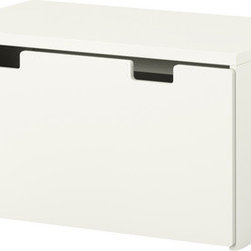Ebba Strandmark - Stuva Storage Bench, White/White - If you are looking for a classic white storage box, check out this affordable bench from Ikea. You can customize it with drawers and boxes inside.