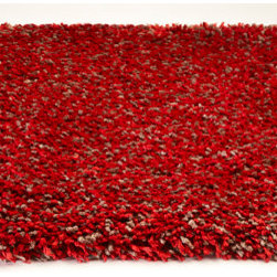 KAS - KAS Bliss 1584 (Red Heather) 5' x 7' Rug - This is a collection that in all honesty...lives up to its name. Featuring extreme softness and luxury, our Bliss super soft shag is available in a number of beautiful colors that will feel amazing underfoot. Densely woven in polyester and suprisingly affordable, these rugs bring sophisticated living to an all-new level.