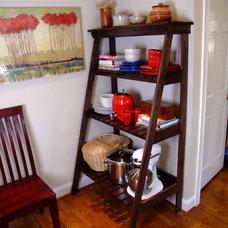 Eclectic Baker's Racks by Chris Hill