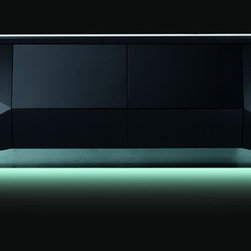 Rossetto - Sapphire Big Buffet in Black - Features: