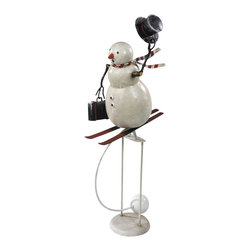 Authentic Models - Authentic Models TM093 Downhill Snowman Sky Hook - Fast and furious, a downhill race our three dimensional snowman has never been more jolly! An instant seasonal classing from AM.