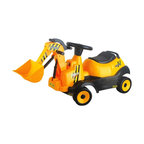 Vroom Rider - Vroom Rider Ride-on 4-Wheel Bulldozer Battery Powered Riding Toy - VRBR03 - Shop for Tricycles and Riding Toys from Hayneedle.com! While the demolition job might be pretend the Vroom Rider Ride-on 4-Wheel Bulldozer Battery Powered Riding Toy will make your little one will feel like he's driving the real thing. Switch it to the 'forward' position and press the 'Go' button to move the four-wheel bulldozer forward or the 'backward' position for reverse. A real working lever makes scooping up dirt more fun while music and horn build up enough fanfare for the little demolition man! For ages 2 to 5 years. Weight capacity: 66 lbs. Includes 6V 4.5AH rechargeable battery with runtime of 1 to 2 hours. About Vroom RiderConsidering the safety and well being of a child as being of paramount importance Vroom Rider a Merske LLC company enforces very strict safety and quality tests to make their toys absolutely safe to use. They believe that entertainment is crucial for children's development and achievement of new skills which is why they hire only specialists within the industry to research and design products that are safe useful durable and affordable. By using their own products in their homes as well as listening to their customers' feedback Vroom Rider is able to offer products that consistently meet their customer's expectations.