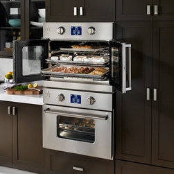 BlueStar's New Electric Wall Oven - BlueStar's Double Electric Wall Oven's sleek design and incomparable power.