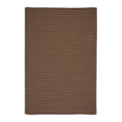 Colonial Mills - Colonial Mills Simply Home Solid H286 Cashew Rug H286R024X036S 2x3 - Practical. Colorful. Versatile. Maintenance-free. Simply pick from 37 colors to find the perfect solid-color indoor/outdoor rug for your space.