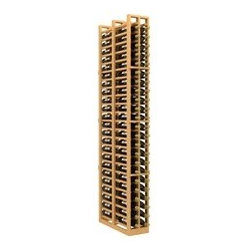 Double Deep 2-Column Wood Wine Rack for Splits - The Double Deep 2-Column Wood Wine Rack for Splits is part of our Double Deep series.