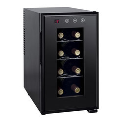 Sunpentown - Thermo-Electric Slim Wine Cooler with Heating, 8-Bottle - ThermoElectric + Heating Technology  Environment friendly