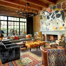 Contemporary Living Room by Bruce Fox