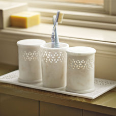 Traditional Bathroom Storage by Serena & Lily