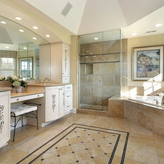 traditional bathroom by OTM Designs & Remodeling Inc
