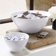 Modern Serving Bowls by CB2