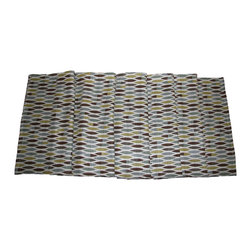 """Grey House Linens - The Caroline Collection Runner - Measures 16"""" x 90""""."""