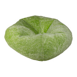 Ace Bayou - 98450 Ace Bayou Lime Chenille Bean Bag - Lime Chenille Bean Bag by Ace Bayou.