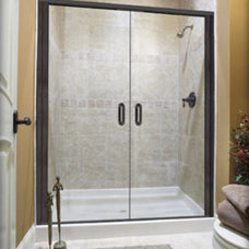 Traditional Shower Doors by Delta Glass