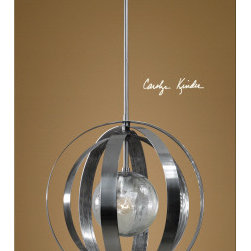 "21938 Trofarello Silver, 1 Lt Pendant by uttermost - Get 10% discount on your first order. Coupon code: ""houzz"". Order today."