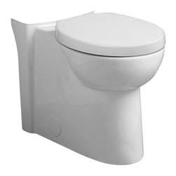 American Standard - American Standard 3075.120.020 Right Height Elongated Bowl,  White - American Standard 3075.120.020 Right Height Elongated Bowl,  White. This elongated bowl assembly comes with 2 bolt hole covers and a 5118.110 model elongated Duroplast toilet seat and cover.