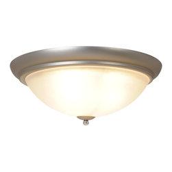 Premier - Three Light Essen 18 inch Flush Mount - Polished Chrome - Premier Essen 617507 3 Light Ceiling Flush Mount Light Fixture.