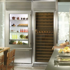 modern refrigerators and freezers by StineHome.com