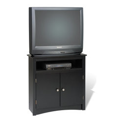 Prepac Prepac Tall 32 Inch Corner Tv Cabinet At 32 In Height This Tv Cabinet Is A Little