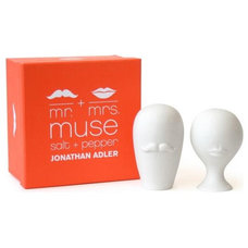 Contemporary Salt And Pepper Shakers And Mills by Jonathan Adler