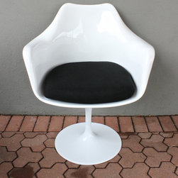 tulip arm chair - please e-mail us at info@redinfred.com for more information + purchasing availability