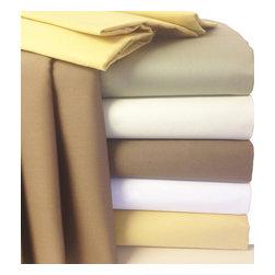 Bed Linens - 22 inch Super Deep Pocket 300TC Egyptian sheets California King Ivory - * 300 Thread Count Extra Deep Pocket Sheet Set.
