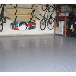 Auto Care Products, Inc. - 1 Car Garage Kit, Includes (2) 5'x24', Metallic Silver - Features: