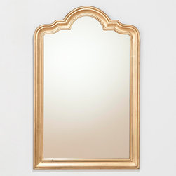 Nico Arch Mirror - I love this simple arched mirror. Even its color is great for making any room elegant.