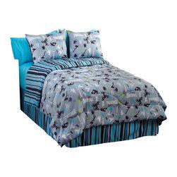 Veratex Inc - Extreme Sports Comforter Set Motocross 4 Piece Queen Bedding - Features: