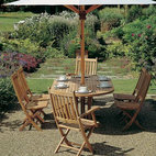 Barlow Tyrie - Barlow Tyrie Ascot Folding Side Chair & Armchairs - Barlow Tyrie manufacturers their own extensive range of outdoor teak furniture with traditional and contemporary designs that include teak chairs and tables, teak steamers, teak benches and swing seats, as well as items in teak mixed with sling that include chairs, sun loungers and deep seating.