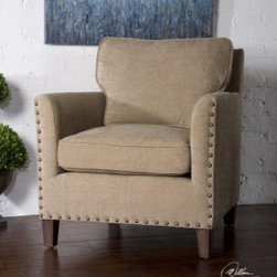 "23066 Keturah, Armchair by uttermost - Get 10% discount on your first order. Coupon code: ""houzz"". Order today."