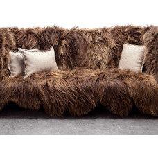 Sentient Long Wool Sofa | 2Modern Furniture & Lighting