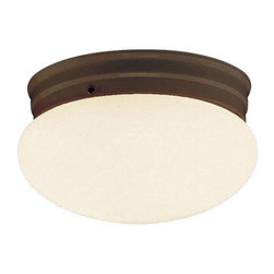 Trans Globe Lighting - Trans Globe Lighting PL-3620 ROB Flushmount In Rubbed Oil Bronze - Part Number: PL-3620 ROB