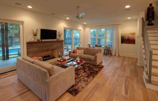Contemporary Living Room by Butter Lutz Interiors, LLC