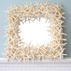 White Starfish Mirror by Beach Grass Cottage - I love this starfish mirror from Etsy vendor Beach Grass Cottage.