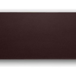 "Dacasso - 1000 Series Classic Leather 38 x 24 Desk Mat without Rails in Chocolate Brown - Desk Mat Features: -Chocolate Brown. -Constructed from top grain leather. -Felt bottom. -Overall Dimensions: 0.25"" H x 24"" W x 38"" D."