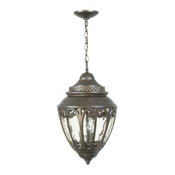 Exteriors - Exteriors Z3821-98 Olivier Traditional Outdoor Hanging Light - LARGE PENDANT