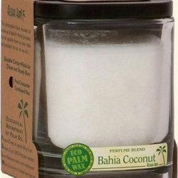 Aloha Bay Candle - Jar Bahia Coconut - 8 Oz - ALOHA JARS - PERFUME BLENDS WITH ESSENTIAL OILS