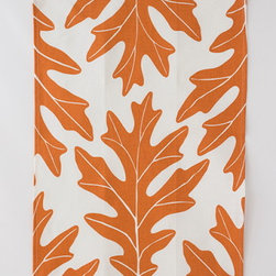 Oak Leaf Tea Towel, Copper - Studiopatró makes the most beautiful hand-printed linen tea towels, and this copper-colored leaf design feels just right for fall. For a personal touch, use one to wrap up a homemade loaf and package it with your favorite recipe tied to a string.