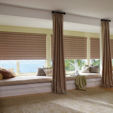 Eclectic Roman Blinds by Home Source Custom Draperies & Blinds